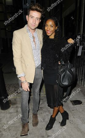 Stock Picture of Nick Grimshaw and Remi Nicole