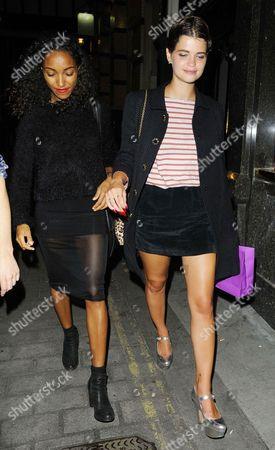 Remi Nicole and Pixie Geldof