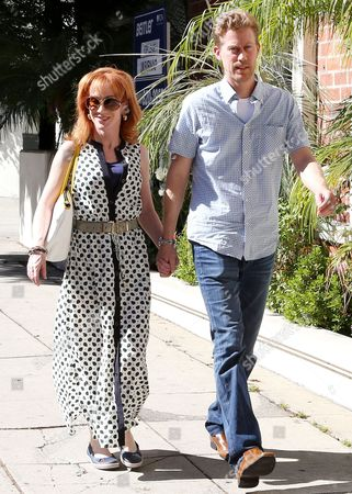 Editorial photo of Kathy Griffin and boyfriend out and about, Los Angeles, America - 04 Sep 2013