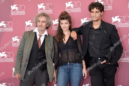 Philippe Garrel, Esther Garrel and Louis Garrel