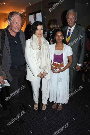 Stock Photo of Jon Snow, Bianca Jagger and Callum Macrae