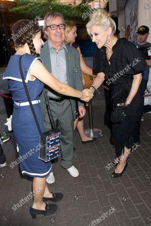 Matilda Wyman, Bill Wyman and Anita Dobson