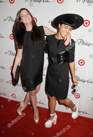Stock Image of Rachael Cairns and Natalia Kills