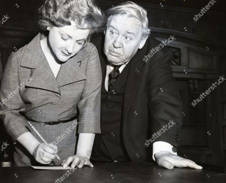 Charles Laughton And Wife Actress Elsa Lanchester.