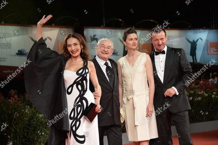 Robert Wieckiewicz, Agnieszka Grochowska, Andrzej Wajda, Maria Rosaria Omaggio