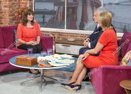 Anne Nolan with Eamonn Holmes and Ruth Langsford