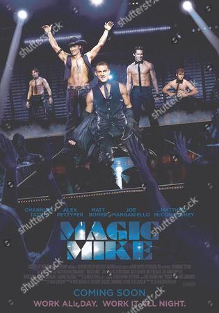Magic Mike - Poster Art - Matthew McConaughey, Channing Tatum