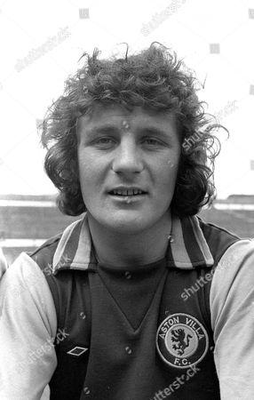 Stock Photo of Jimmy Brown or James Keith Brown Aston Villa football club footballer 1974