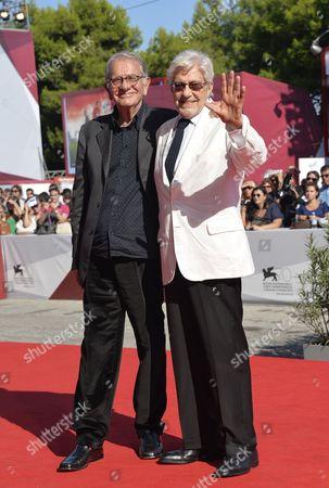 Ettore Scola and Enrico Lucherini