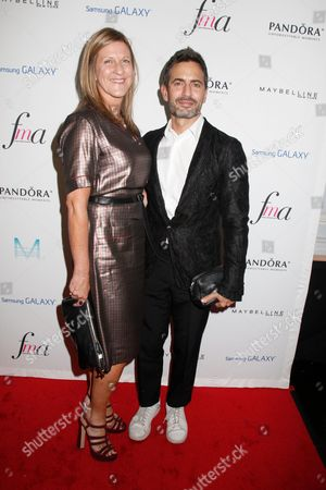Jane Bruton and Marc Jacobs
