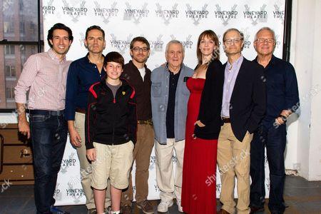Josh Rhodes, Paul Anthony Stewart, Frankie Seratch, Greg Pierce, John Kander, Julia Murney, David Hyde Pierce, Walter Bobbie
