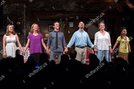 Editorial picture of 'Vanya and Sonia and Masha and Spike' Closing Night Curtain Call, New York, America - 26 Aug 2013