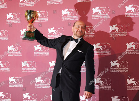 Editorial photo of Golden Lion Winners photocall, 70th Venice International Film Festival, Italy - 07 Sep 2013