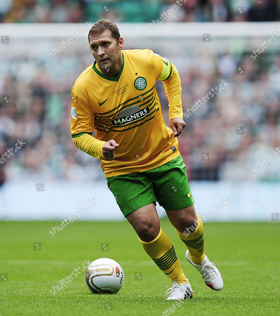 Stiliyan Petrov in action during the game.