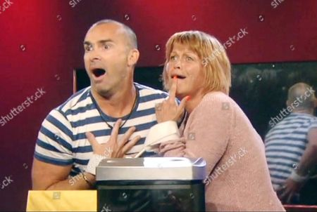 Louie Spence and Vicky Entwistle