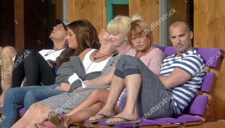 Charlotte Crosby, Abz Love, Carol McGiffin, Lauren Harries, Vicky Entwistle and Louie Spence