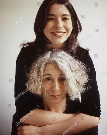 JENNY DISKI WITH HER DAUGHTER CHLOE