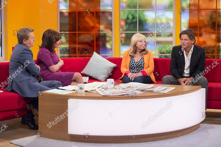 Aled Jones and Lorraine Kelly with Maggie Webster and Richard Farleigh