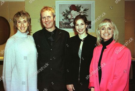 Stock Picture of LIZ COLLINGE, ANDREW COLLINGE, DARCEY BUSSELL AND SUSAN GEORGE