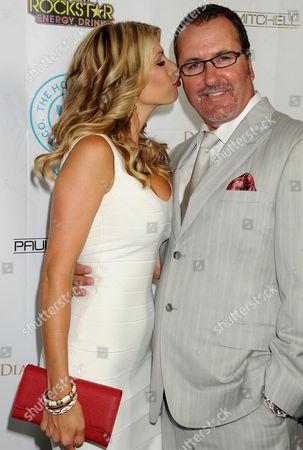 Stock Photo of Alexis Bellino and husband Jim Bellino