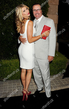 Stock Picture of Alexis Bellino and husband Jim Bellino
