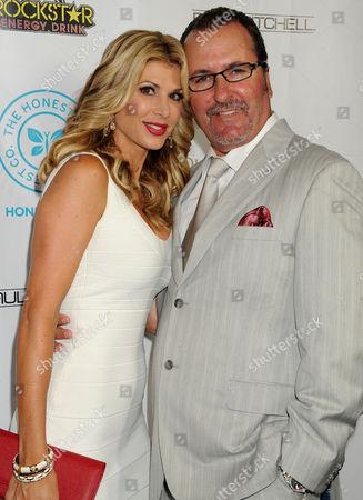 Stock Image of Alexis Bellino and husband Jim Bellino