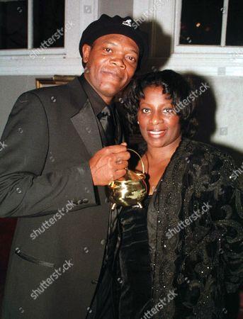 SAMUEL L JACKSON AND WIFE LA TANYA RICHARDSON