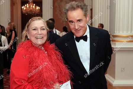 Shirley Conran and Peter York.