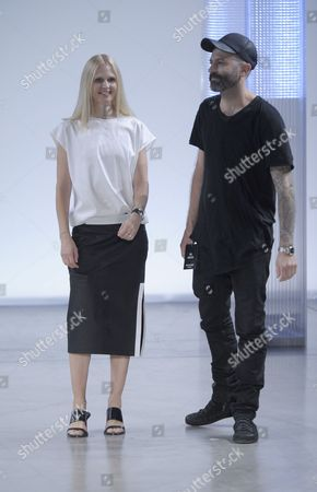 Editorial picture of Helmut Lang show, Spring Summer 2014, Mercedes-Benz Fashion Week, New York, America - 06 Sep 2013