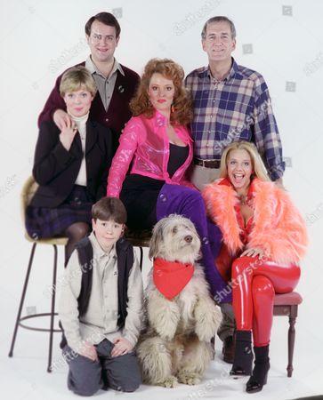 Hugh Bonneville, Russ Abbot, Julie Dawn Cole, Susan Kyd, Lucy Blakely and Peter England