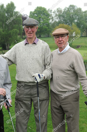 Sir Bobby Charlton and his brother Jack at Brocton Hall Golf Course in Staffordshire May 20th 2013