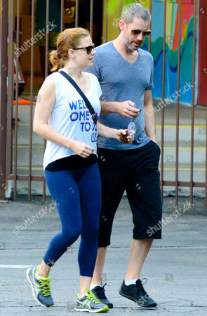 Editorial picture of Amy Adams and Darren Gallo out and about, New York, America - 09 Sep 2013