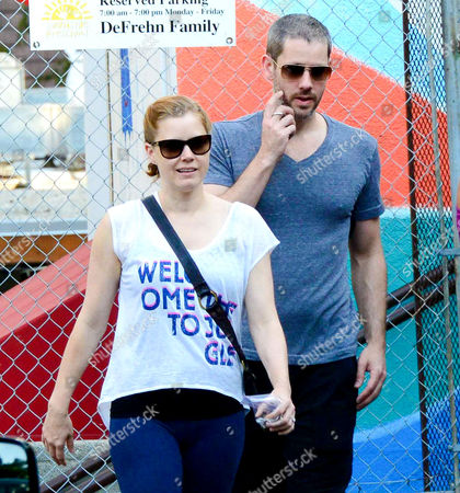 Editorial photo of Amy Adams and Darren Gallo out and about, New York, America - 09 Sep 2013