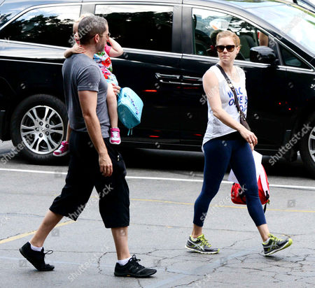 Editorial image of Amy Adams and Darren Gallo out and about, New York, America - 09 Sep 2013