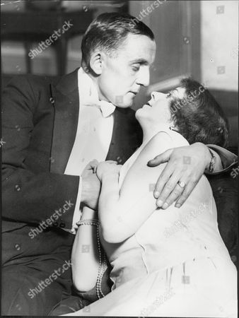 Henry Oscar And Helena Pickard In A Scene From 'the Pagans'.