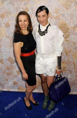 Sarah Hughes and Johnny Weir