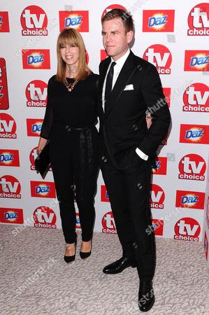 Kate Garraway and Matt Barbet