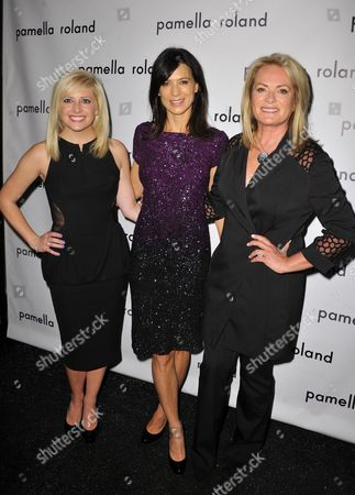 Sydney DeVos, Perrey Reeves and Pamella Roland