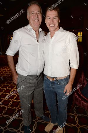 Stock Photo of Michael Barrymore and Rob Baines