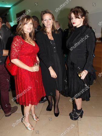 Shebah Ronay, guest and Helena Bonham Carter