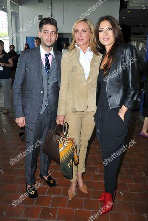 Josh Flagg, Sonja Morgan and Catherine Malandrino