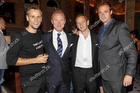 Richard Bacon, Gary Kemp, Alexander Armstrong and Jamie Theakston