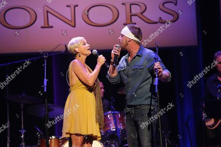 Lorrie Morgan and son Jesse Keith Whitley