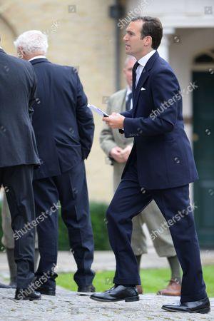 Editorial photo of Hugh Van Cutsem Funeral, Brentwood Cathedral, Essex, Britain - 11 Sep 2013