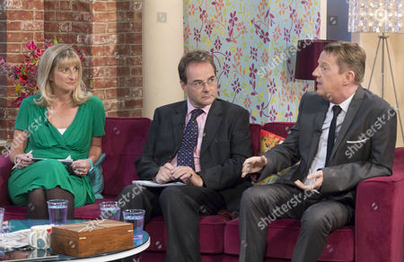 Alison Phillips, Quentin Letts and Kevin Kennedy