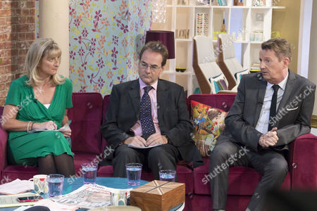 Stock Picture of Alison Phillips, Quentin Letts and Kevin Kennedy