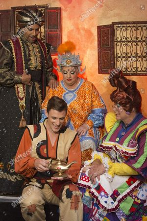 Editorial image of 'Aladdin' Pantomime at the New Wimbledon Theatre, London, Britain - 09 Sep 2013