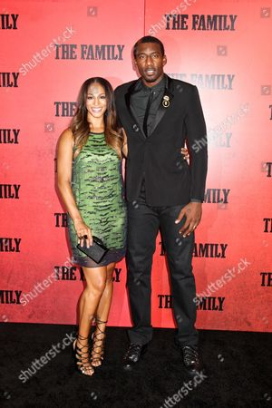 Amares Stoudmire and Alexis Welch