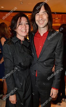 Bobby Gillespie and Katy England