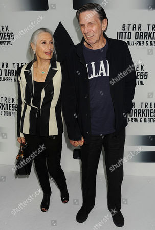 Stock Picture of Susan Bay and Leonard Nimoy